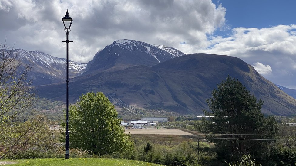 Ben Nevis and the aluminium smelter