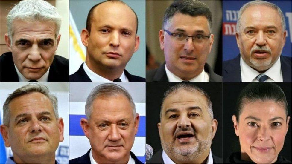 نئی حکومت میں شامل رہنما