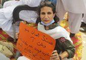 سندھ کی سیاسی جماعتوں، متاثرین کا بحریہ ٹاؤن کراچی کے باہر دھرنا، 'غیرقانونی قبضے' چھڑوانے کا مطالبہ