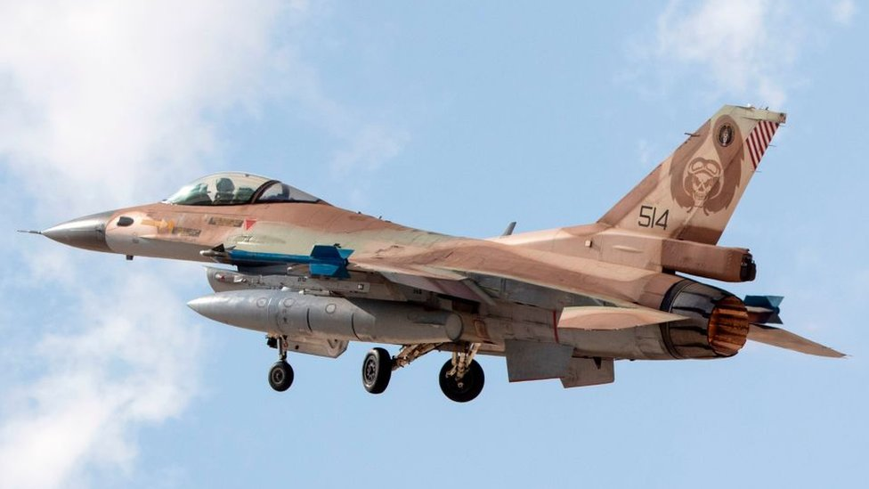 اسرائیلی ایف 16