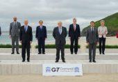 جی سیون سربراہ اجلاس: چین کے بڑھتے اثر و رسوخ کا مقابلہ کرنے کے لیے عالمی رہنماؤں کا 'نئے منصوبے پر اتفاق'