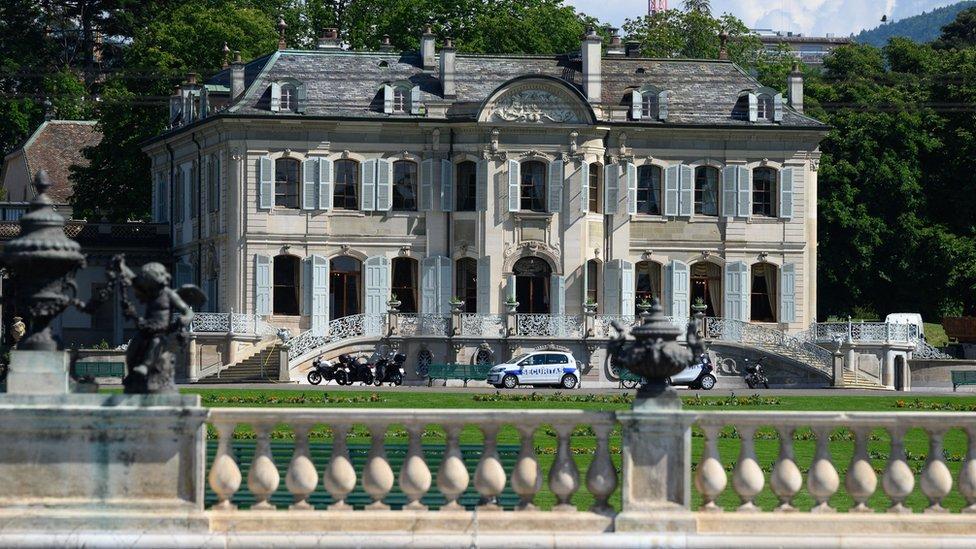 Villa La Grange, Geneva, Switzerland. Photo: June 2021