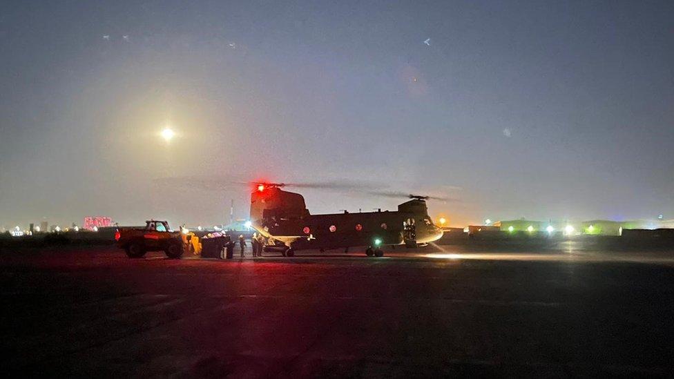 Irbil airbase, Iraq. File photo