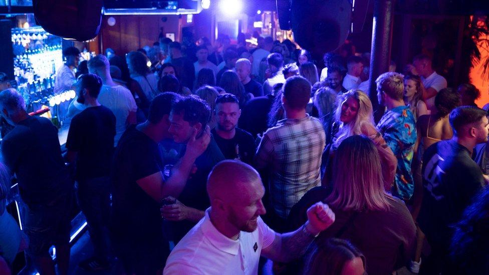 Fibre nightclub in Leeds on 19 July 2021