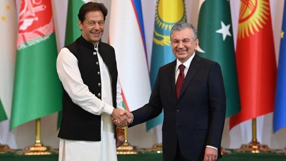 عمران خان اور ازبکستان کے صدر