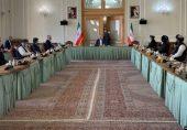 افغان حکومت اور طالبان کے ایران کی میزبانی میں مذاکرات، مسئلے کے پر امن حل پر زور