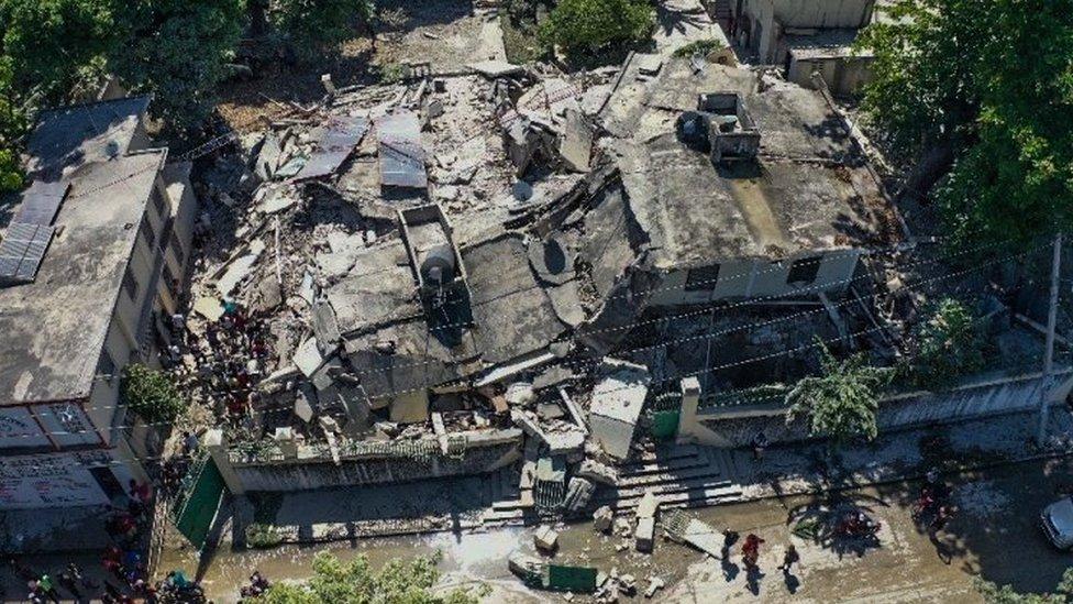 ہیتی میں زلزلہ