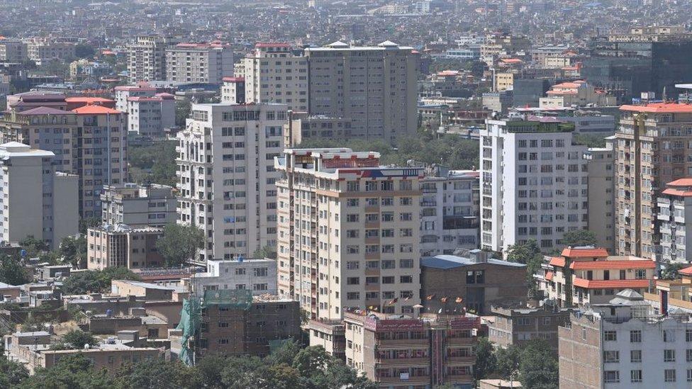 Kabul in 2021