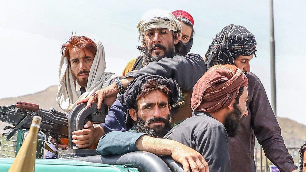 کابل میں طالبان جنگجوں