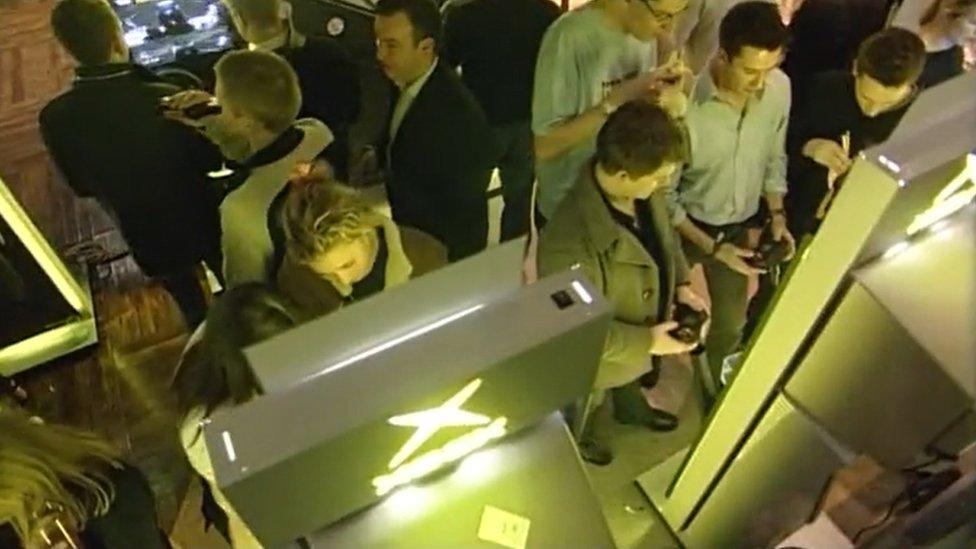 X-Box crowd