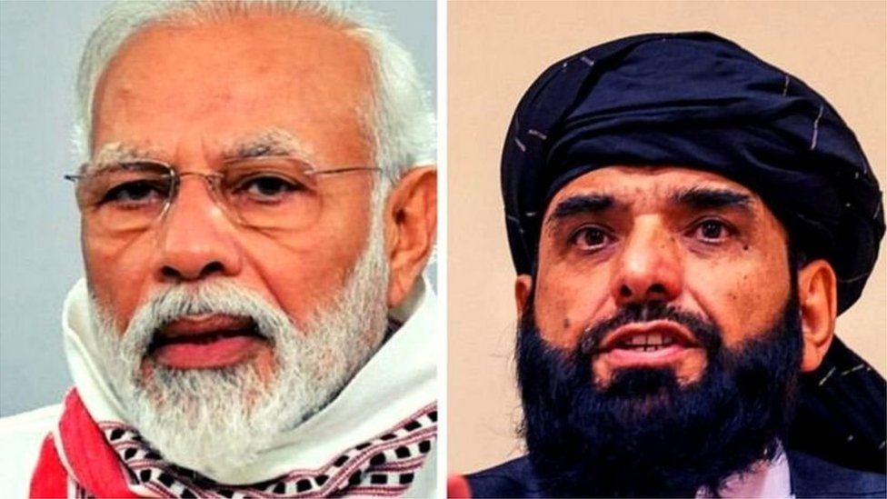 مودی اور طالبان رہنما
