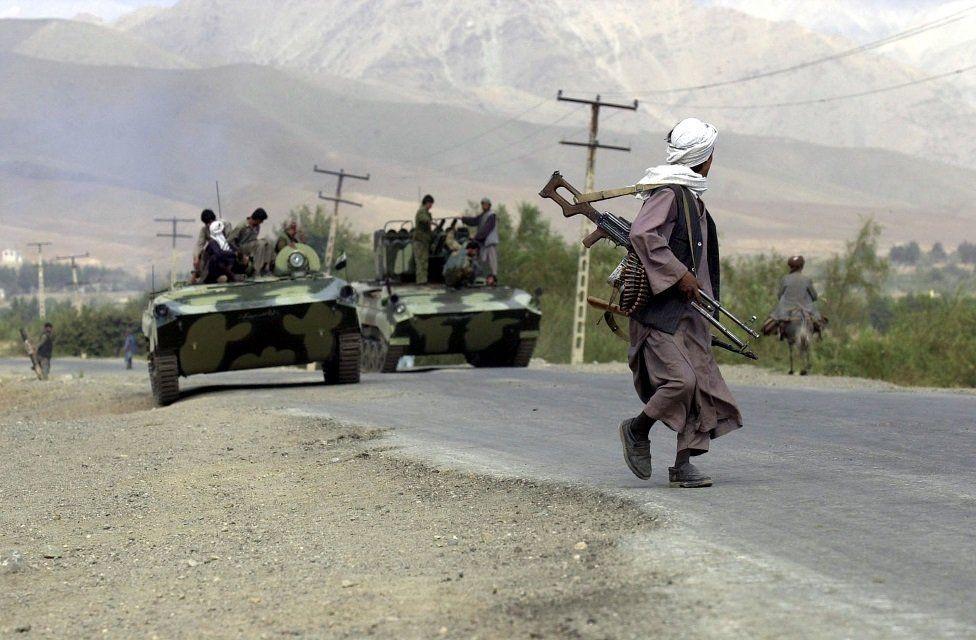 شمالی اتحاد کے جنگجو 2001