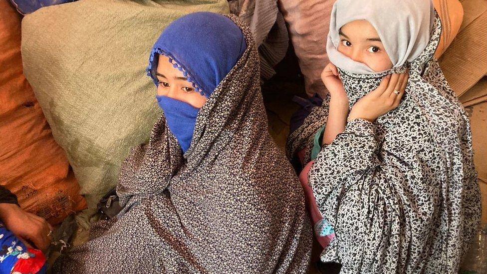 چمن سرحد، افغان پناہ گزین