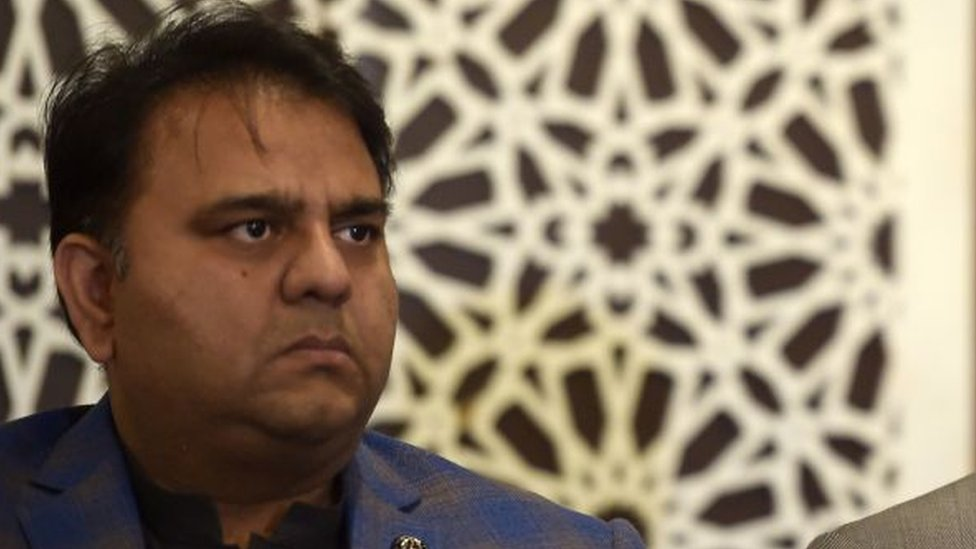 fawad chaudhry, pakistan information minister