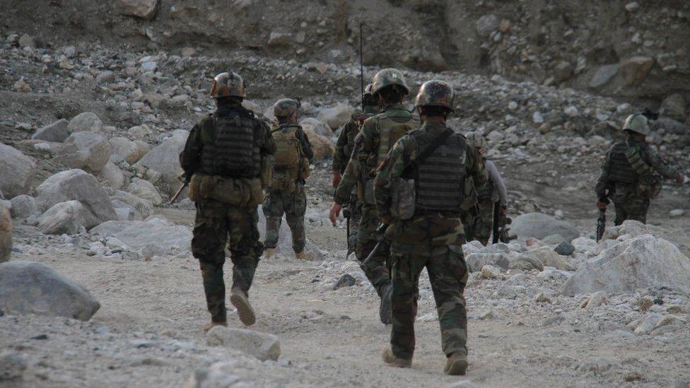 افغان کمانڈوز