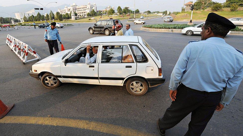 اسلام آباد، شاہراہ دستور