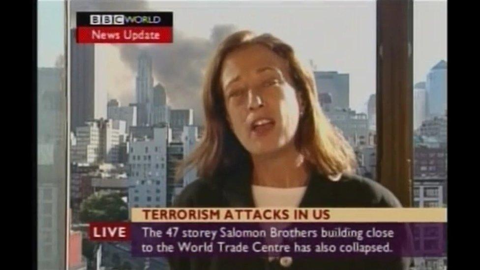 Screengrab of BBC report
