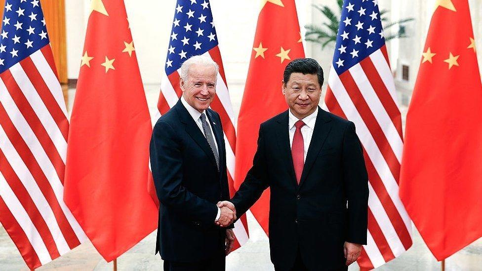 امریکہ اور چین کے صدر