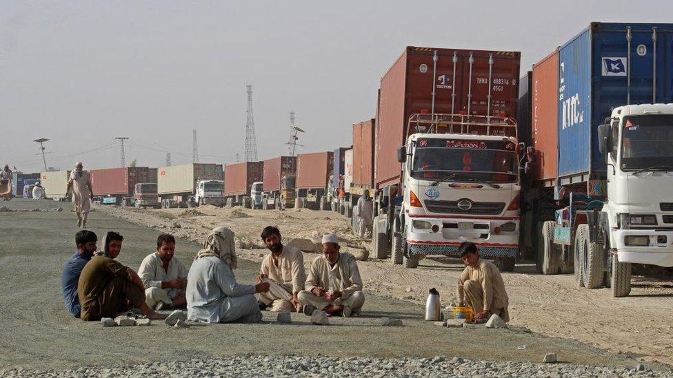 پاکستان، افغانستان، چمن بارڈر