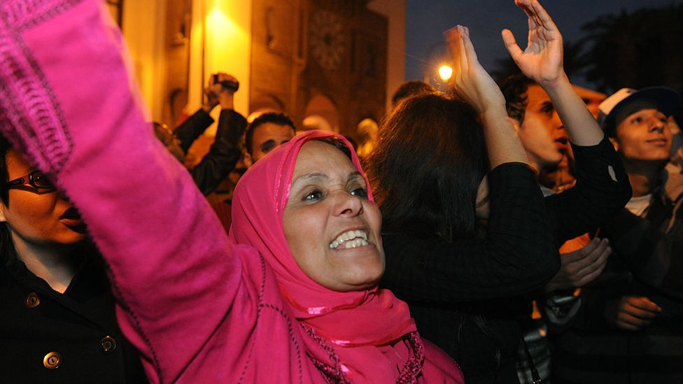 February 20 movement protesters