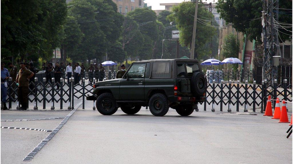 پاکستان کا کہنا ہے کہ اس نے میچ میں فول پروف سکیورٹی کا انتظام کیا تھا