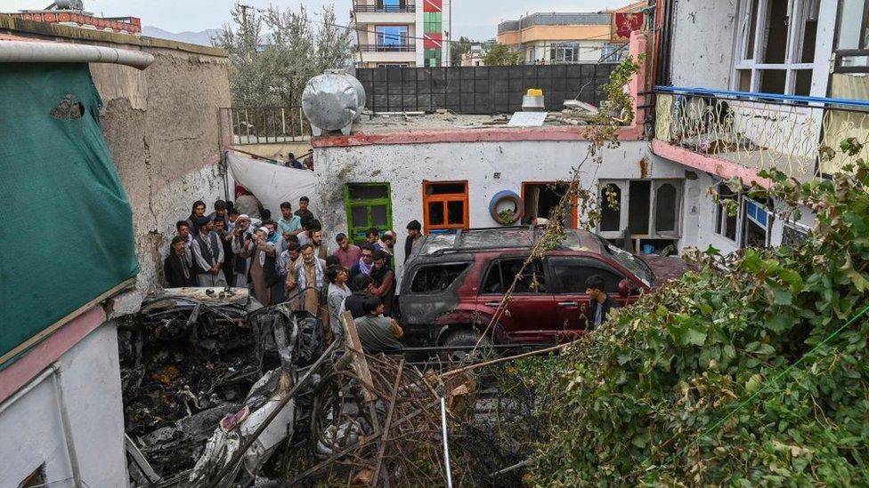 امریکی ڈرون حملہ، کابل