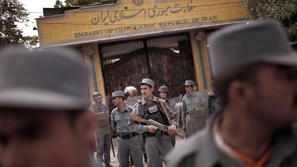 ایران سفارت خانہ