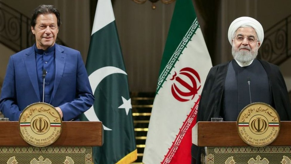 عمران خان حسن روحانی