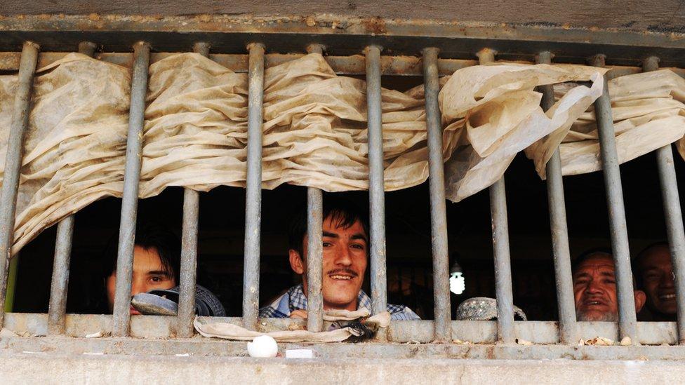 کابل پل چرخی جیل
