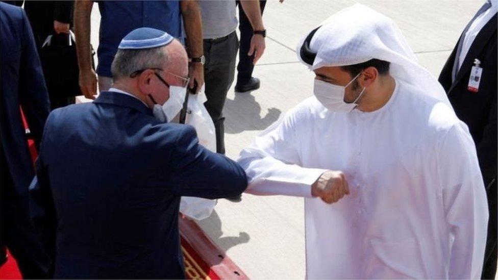 اسرائیلی سکیورٹی مشیر محتجد عرب امارات کے تاریخی دورے پر