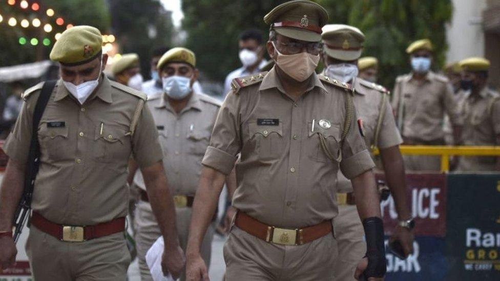 پولیس، انڈیا