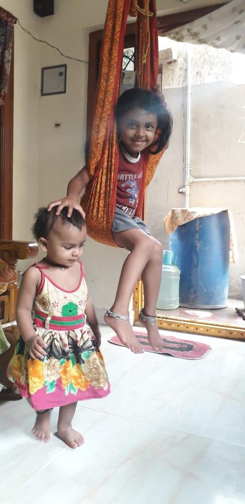 Geeta Vaishnavi and Dhatri Ananya