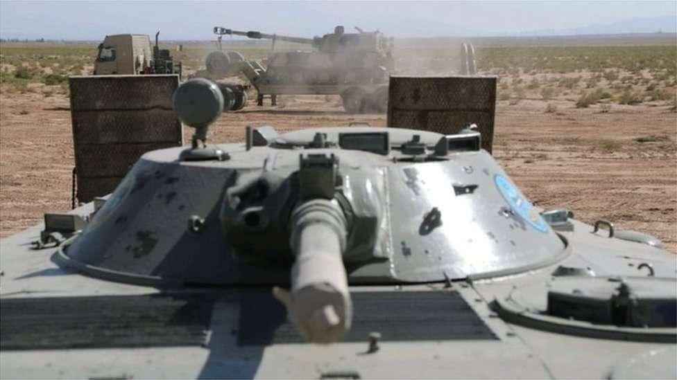 ایرانی فوجی مشق