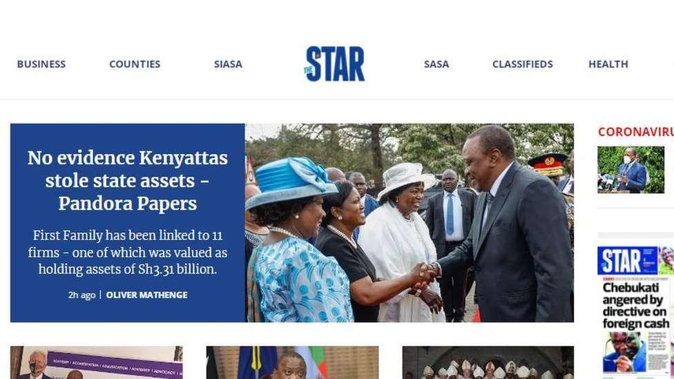 Kenya's Star newspaper
