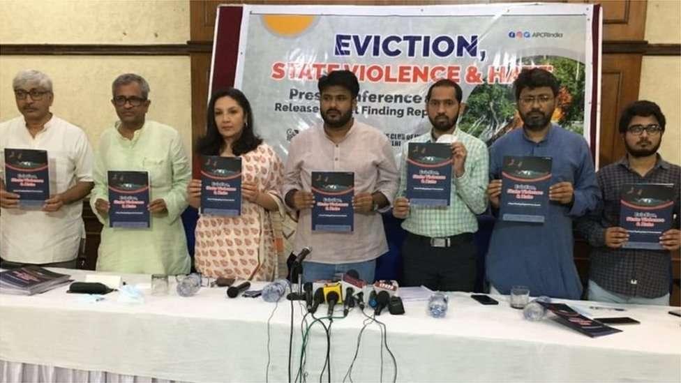 یہ پریس کانفرنس پریس کلب آف انڈیا میں ہوئی