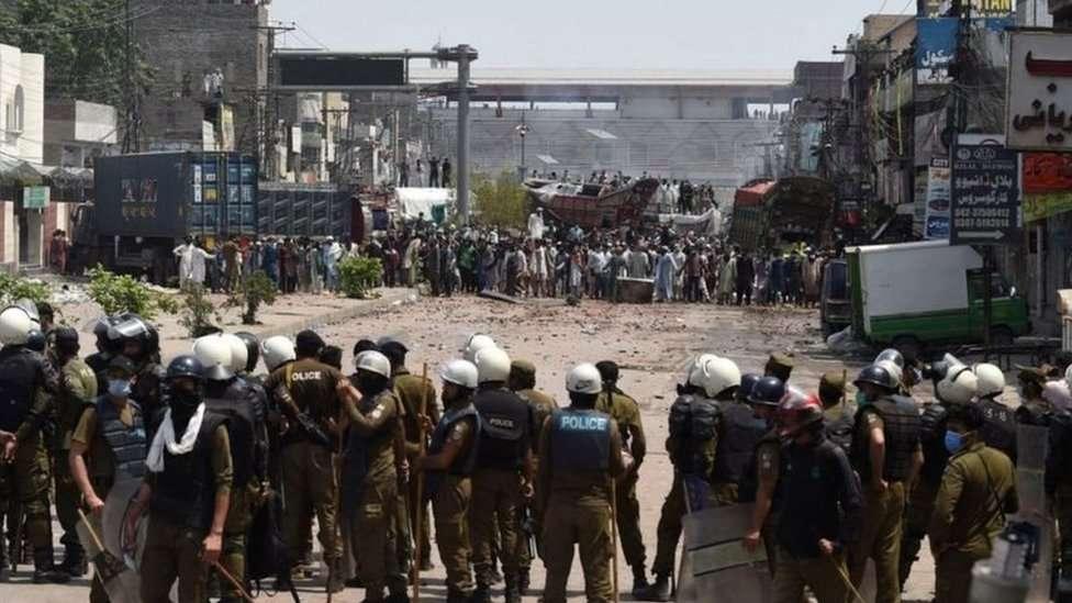 تحریک لبیک پاکستان، یتیم خانہ چوک