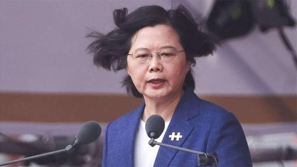 تائیوان کی صدر سائی اینگ وین