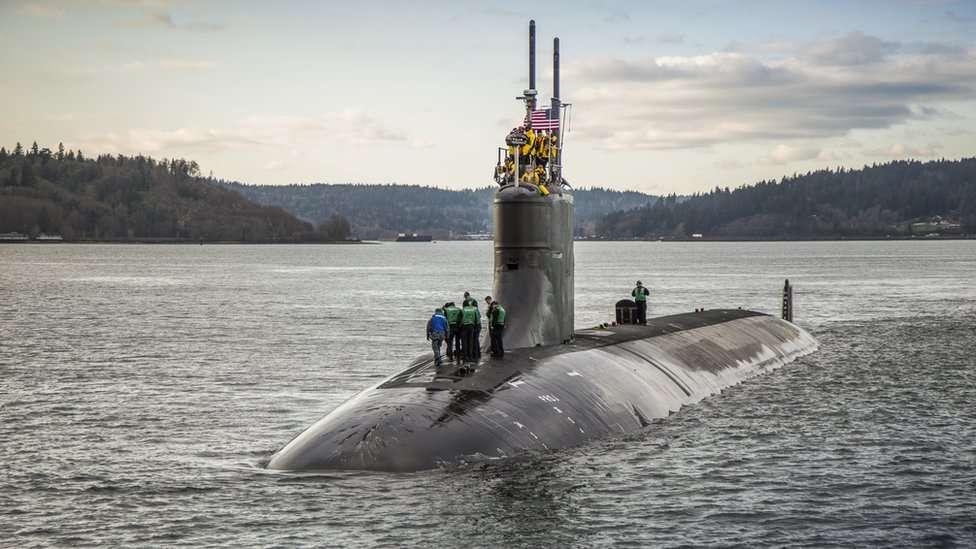 USS Connecticut in Washington, 2016